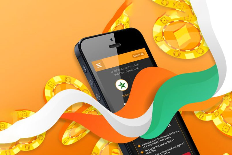 Online betting on cricket matches in India